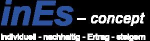 Logo inEs concept Waldstetten